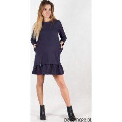 Sukienki ciążowe: Sukienka ciążowa i do karmienia Navy Blue