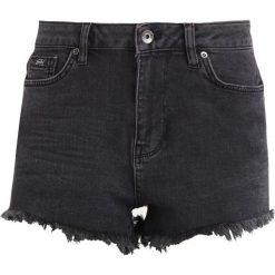 Bermudy damskie: Superdry ELIZA CUT OFF  Szorty jeansowe washed black