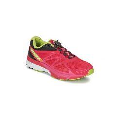 Buty do biegania Salomon  X-SCREAM 3D WOMAN. Czerwone buty do biegania damskie Salomon, z kauczuku. Za 398,30 zł.