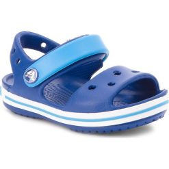 Sandały CROCS - Crocband Sandal Kids 12856 Cerulean Blue/Ocean. Niebieskie sandały chłopięce Crocs, z tworzywa sztucznego. Za 129,00 zł.