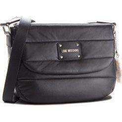 Torebka LOVE MOSCHINO - JC4257PP06KH0000  Nero. Czarne torebki klasyczne damskie Love Moschino, ze skóry ekologicznej. Za 879,00 zł.
