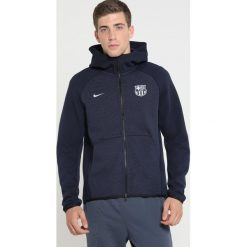 Nike Performance FC BARCELONA HOODIE  Bluza rozpinana obsidian/obsidianheather/metallic silver. Niebieskie bejsbolówki męskie Nike Performance, m, z bawełny. Za 419,00 zł.