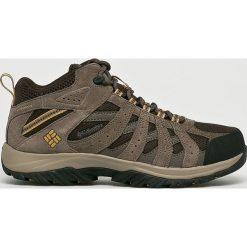 Columbia - Buty Canyon Point Mid. Szare buty trekkingowe męskie Columbia, z materiału, na sznurówki, outdoorowe. W wyprzedaży za 349,90 zł.