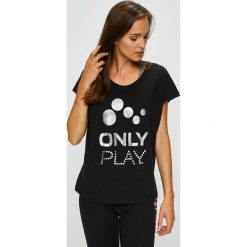 Only Play - Top Fray. Szare topy damskie marki Only Play, m, z dzianiny. Za 59,90 zł.