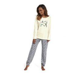 Piżama It's snowing 627/156 Ecru-szara. Białe piżamy damskie marki MAT. Za 99,90 zł.
