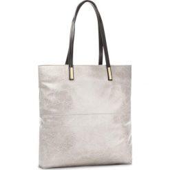 Torebka CREOLE - RBI10128 Szary/Czarny. Szare torebki klasyczne damskie Creole, ze skóry. W wyprzedaży za 209,00 zł.