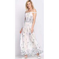Sukienki: Biała Sukienka Big Kiss