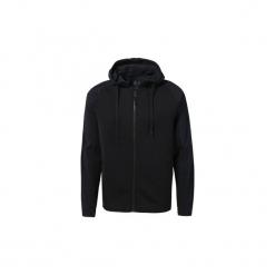 Bluzy Reebok Sport  Bluza z kapturem Training Supply Full-Zip. Czarne bluzy męskie Reebok Sport, l, z kapturem. Za 329,00 zł.