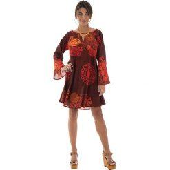 Sukienki: Sukienka w kolorze ciemnoczerwonym