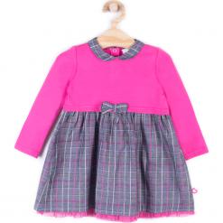 Sukienka. Szare sukienki dziewczęce SWEET HEART, z bawełny, z długim rękawem, długie. Za 39,90 zł.