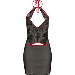 Sukienki: Sukienka bonprix czarno-czerwony