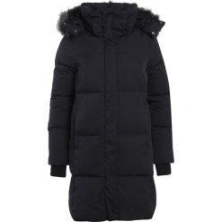 Superdry COCOON  Płaszcz zimowy graphite. Czarne płaszcze damskie zimowe Superdry, xs, z materiału. W wyprzedaży za 695,20 zł.