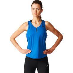 Adidas Koszulka damska Adizero Tank niebieski r. M (S98010). Niebieskie topy sportowe damskie Adidas, m. Za 103,83 zł.