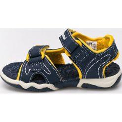 Timberland - Sandały dziecięce. Szare sandały chłopięce Timberland, z gumy. W wyprzedaży za 139,90 zł.