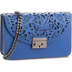 Torebka CREOLE - K10549 Niebieski. Niebieskie torebki klasyczne damskie Creole, ze skóry. W wyprzedaży za 189,00 zł.