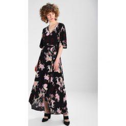 Długie sukienki: Springfield VESTIDO LARGO GRULLA Długa sukienka black