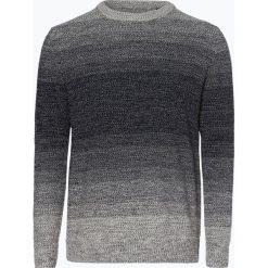 Jack & Jones - Sweter męski – Jortwin, niebieski. Czarne swetry klasyczne męskie marki Jack & Jones, l, z bawełny, z klasycznym kołnierzykiem, z długim rękawem. Za 99,95 zł.