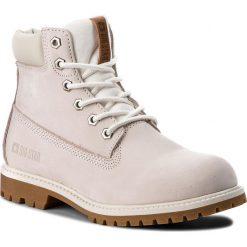 Trapery BIG STAR - BB274442 White. Brązowe buty zimowe damskie BIG STAR, z materiału. W wyprzedaży za 249,00 zł.