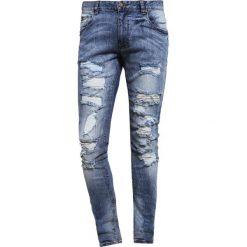 Jeansy męskie regular: Shine Original Jeansy Slim Fit light blue