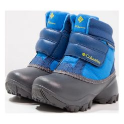 Columbia ROPE TOW KRUSER Śniegowce hyper blue/ginkgo. Szare buty zimowe damskie marki Columbia, ze skóry ekologicznej. W wyprzedaży za 209,30 zł.