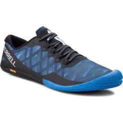 Buty MERRELL - Vapor Glove 3 J77657 Blue Sport. Czarne buty sportowe męskie Merrell, z materiału, do biegania. W wyprzedaży za 249,00 zł.