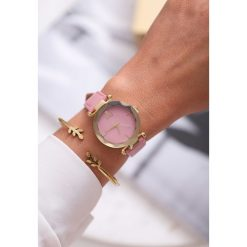 Ciemnoróżowy Zegarek On the Loose. Czerwone zegarki damskie other. Za 24,99 zł.