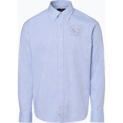 La Martina - Koszula męska, niebieski. Białe koszule męskie na spinki marki DRYKORN, m. Za 349,95 zł.