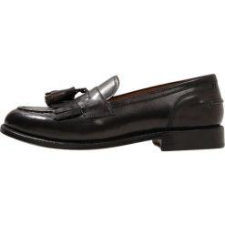 Buty wizytowe męskie: Grenson MACKENZIE Eleganckie buty dark grey handpainted