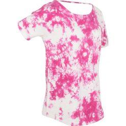 T-shirty damskie: T-shirt batikowy, krótki rękaw bonprix różowa magnolia z nadrukiem