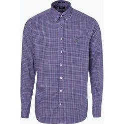 Gant - Koszula męska, niebieski. Niebieskie koszule męskie w kratę marki GANT, m, z bawełny. Za 449,95 zł.