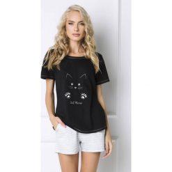 Piżamy damskie: Damska piżama Cat Woman krótka