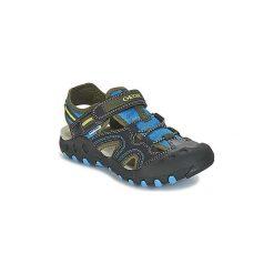 Sandały sportowe Dziecko  Geox  J S.KYLE A. Czarne buty sportowe chłopięce Geox. Za 231,20 zł.