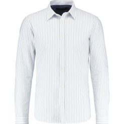 Koszule męskie na spinki: Suit OXFORD STRIPE Koszula pale teal
