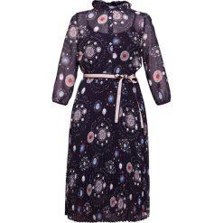 IBlues MENTANA Sukienka letnia midnightblue. Czerwone sukienki letnie marki iBlues, l, z materiału. W wyprzedaży za 874,30 zł.