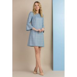 Sukienki: Elegancka sukienka w kratę