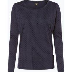 Scotch & Soda - Damska koszulka z długim rękawem, niebieski. Niebieskie t-shirty damskie Scotch & Soda, s, w kropki, z dżerseju. Za 269,95 zł.
