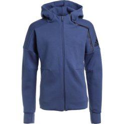 Bluzy sportowe damskie: adidas Performance ZNE HOODIE 2 Bluza rozpinana noble indigo