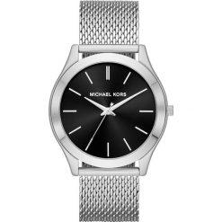 """Zegarki męskie: Zegarek kwarcowy """"Slim Runway"""" w kolorze czarno-srebrnym"""