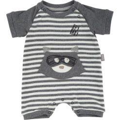 Sigikid  Boys Rampersy grey melange - szary - Gr.Niemowlę (0 - 6 miesięcy). Szare pajacyki niemowlęce SIGIKID, z bawełny. Za 99,00 zł.