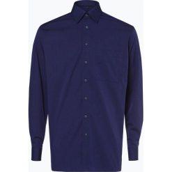 Eterna Comfort Fit - Koszula męska – niewymagająca prasowania, niebieski. Niebieskie koszule męskie non-iron Eterna Comfort Fit, m, z klasycznym kołnierzykiem. Za 229,95 zł.