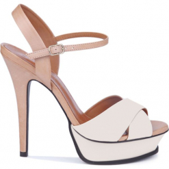 Sandały. Brązowe sandały damskie Gino Rossi, z lakierowanej skóry. Za 99,90 zł.