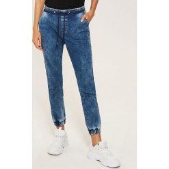 Denimowe jegginsy - Niebieski. Niebieskie legginsy House, z jeansu. Za 89,99 zł.