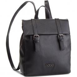 Plecak NOBO - NBAG-F2720-C020 Czarny. Czarne plecaki damskie marki Nobo, ze skóry ekologicznej, eleganckie. W wyprzedaży za 169,00 zł.