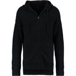 AllSaints ARINN ZIP Kardigan black. Czarne kardigany męskie marki AllSaints, m, z bawełny. W wyprzedaży za 506,35 zł.