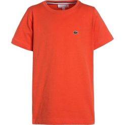 Lacoste Tshirt basic watermelon. Brązowe t-shirty chłopięce Lacoste, z bawełny. Za 129,00 zł.