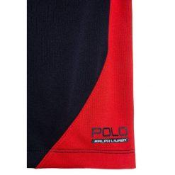 Polo Ralph Lauren Spodnie treningowe french navy. Niebieskie spodnie dresowe dziewczęce Polo Ralph Lauren, z jeansu. W wyprzedaży za 160,30 zł.