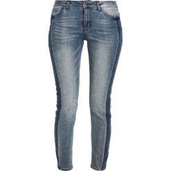 Kaffe ELINA  Jeansy Slim Fit blue smoke denim. Szare jeansy damskie Kaffe, z bawełny. Za 379,00 zł.