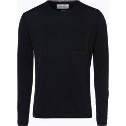 Marc O'Polo Denim - Sweter męski, niebieski. Niebieskie swetry klasyczne męskie marki Reserved, l, polo. Za 199,95 zł.