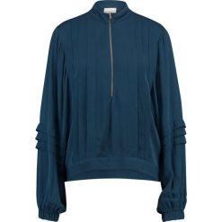 Selected Femme SFTORA  Bluzka dark blue. Niebieskie bluzki asymetryczne Selected Femme, z materiału. Za 299,00 zł.