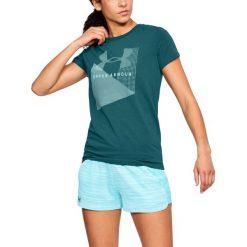 Under Armour Koszulka damska Sportstle Mesh Logo Crew zielona r. M (1310488-716). Zielone t-shirty damskie Under Armour, m, z meshu. Za 62,22 zł.